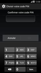 Bouygues Telecom Ultym 5 II - Sécuriser votre mobile - Activer le code de verrouillage - Étape 9