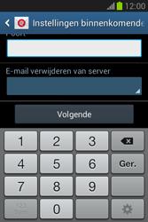 Samsung Galaxy Fame Lite (S6790) - E-mail - Account instellen (POP3 zonder SMTP-verificatie) - Stap 11