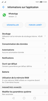 Huawei P20 - Applications - Supprimer une application - Étape 6