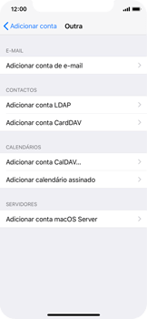Apple iPhone X - Email - Configurar a conta de Email -  7