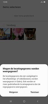 Samsung Galaxy A50 - MMS - afbeeldingen verzenden - Stap 17