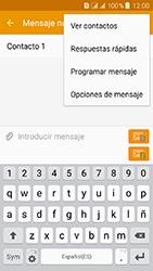 Samsung Galaxy J3 (2016) DualSim (J320) - Mensajería - Escribir y enviar un mensaje multimedia - Paso 12
