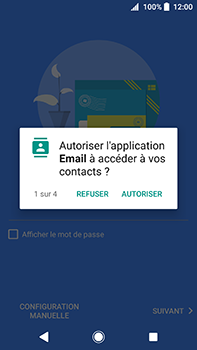 Sony Xperia XA2 Ultra - E-mail - Configuration manuelle (outlook) - Étape 10