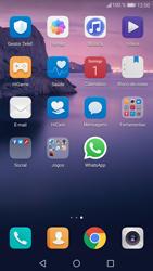 Huawei P9 Lite - Android Nougat - Aplicações - Como configurar o WhatsApp -  4