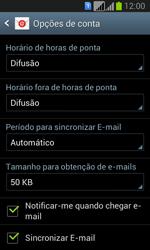 Samsung Galaxy Fresh Duos - Email - Adicionar conta de email -  7