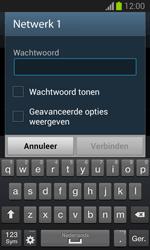 Samsung S7390 Galaxy Trend Lite - WiFi en Bluetooth - Handmatig instellen - Stap 7