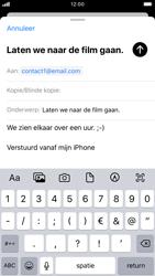 Apple iphone-7-met-ios-13-model-a1778 - E-mail - Hoe te versturen - Stap 8