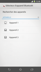 Sony Xpéria Z1 - Photos, vidéos, musique - Envoyer une photo via Bluetooth - Étape 12