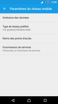 Sony Xperia Z5 Premium (E6853) - Réseau - Changer mode réseau - Étape 6