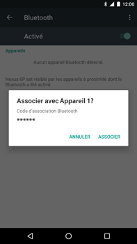 Huawei Google Nexus 6P - Bluetooth - connexion Bluetooth - Étape 9