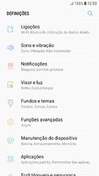 Samsung Galaxy A3 (2016) - Android Nougat - Internet no telemóvel - Como ativar os dados móveis -  4