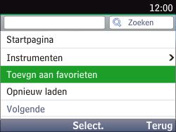 Nokia Asha 201 - Internet - hoe te internetten - Stap 6