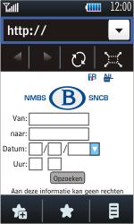 Samsung S5620 Monte - Internet - Internetten - Stap 12