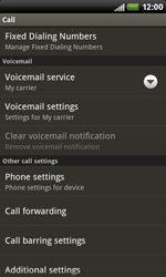 HTC S510b Rhyme - Voicemail - Manual configuration - Step 5