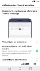 LG G5 - Sécuriser votre mobile - Activer le code de verrouillage - Étape 12