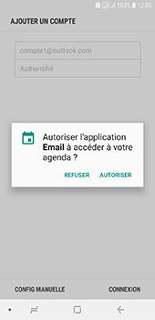 Samsung Galaxy J6 - E-mails - Ajouter ou modifier votre compte Outlook - Étape 11
