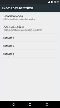 Motorola Moto X Style - Netwerk - Handmatig netwerk selecteren - Stap 11