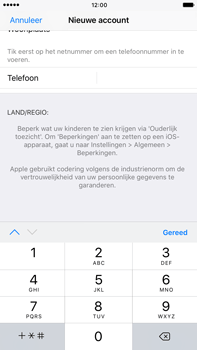 Apple iPhone 6 Plus iOS 10 - Applicaties - Account aanmaken - Stap 23