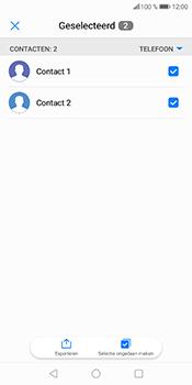 Huawei P Smart (Model FIG-LX1) - Contacten en data - Contacten kopiëren van toestel naar SIM - Stap 7