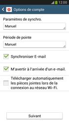 Samsung G386F Galaxy Core LTE - E-mail - Configurer l