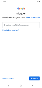 Samsung Galaxy S8+ - Android Pie (SM-G955F) - Applicaties - Account aanmaken - Stap 5