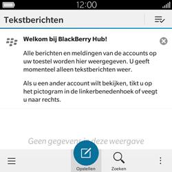 BlackBerry Classic - SMS - Handmatig instellen - Stap 4