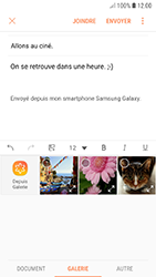 Samsung Galaxy A3 (2017) - Android Oreo - E-mail - envoyer un e-mail - Étape 12