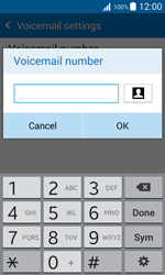 Samsung G388F Galaxy Xcover 3 - Voicemail - Manual configuration - Step 9