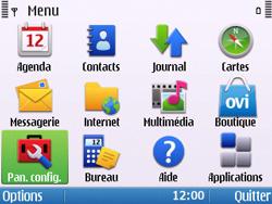 Nokia E5-00 - Mms - Configuration manuelle - Étape 3