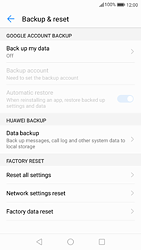 Huawei P9 - Android Nougat - Device - Factory reset - Step 4