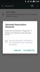 HTC U Play - Bluetooth - Jumeler avec un appareil - Étape 7