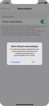 Apple iPhone X - iOS 13 - Data - maak een back-up met je account - Stap 11