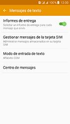 Samsung Galaxy J3 (2016) DualSim (J320) - Mensajería - Configurar el equipo para mensajes de texto - Paso 8