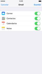Apple iPhone 6s iOS 9 - E-mail - Configurar Gmail - Paso 8