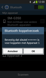 Samsung G3500 Galaxy Core Plus - Bluetooth - headset, carkit verbinding - Stap 7