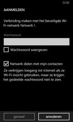Nokia Lumia 635 - WiFi - Verbinden met een netwerk - Stap 7
