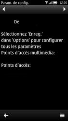Nokia 700 - Paramètres - Reçus par SMS - Étape 10