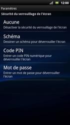 Sony Ericsson Xpéria Arc - Sécuriser votre mobile - Activer le code de verrouillage - Étape 6