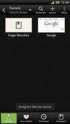 HTC S720e One X - Internet - navigation sur Internet - Étape 10