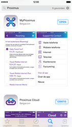 Apple iPhone 6 Plus iOS 8 - Applicaties - MyProximus - Stap 8
