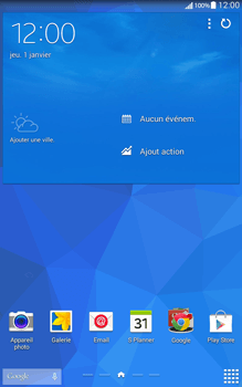 Samsung T335 Galaxy Tab 4 8-0 - Internet - Configuration automatique - Étape 1