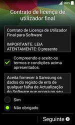 Samsung Galaxy Core II - Primeiros passos - Como ligar o telemóvel pela primeira vez -  9