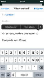 Apple iPhone SE - iOS 10 - E-mail - envoyer un e-mail - Étape 8