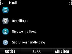 Nokia E6-00 - E-mail - E-mails verzenden - Stap 4