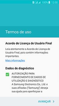 Samsung Galaxy J7 - Primeiros passos - Como ativar seu aparelho - Etapa 8