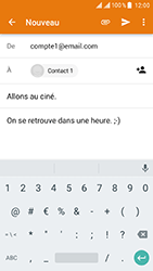 ZTE Blade V8 - E-mail - Envoi d