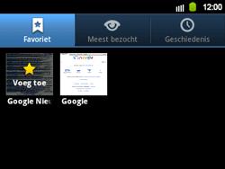 Samsung B5510 Galaxy TXT - Internet - Internetten - Stap 8