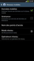 Samsung Galaxy S4 - Internet et connexion - Désactiver la connexion Internet - Étape 6