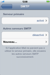 Apple iPhone 4 S - E-mail - Configuration manuelle - Étape 12
