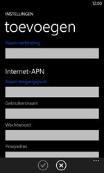 Nokia Lumia 625 - Internet - handmatig instellen - Stap 11